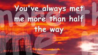 YOU NEVER GAVE UP ON ME - Crystal Gayle (Lyrics)