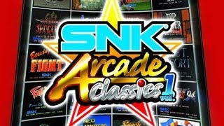 CGR Undertow - SNK ARCADE CLASSICS VOL. 1 review for Nintendo Wii