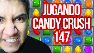 candy crush saga level 147 imposible jugando play