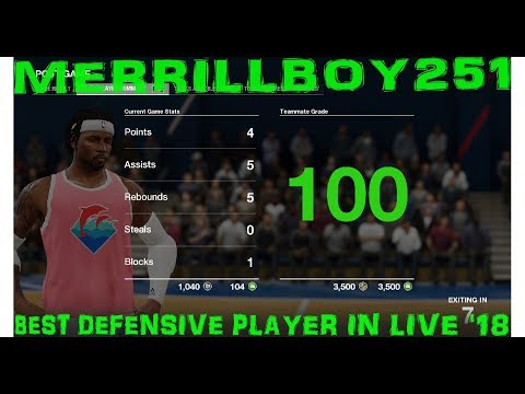 Best Defensive Player in Live '18: 3v3 Exposing All 2k Player