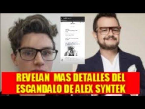 REVELAN DETALLES DEL ESCÁNDALO DE ALEX SYNTEK