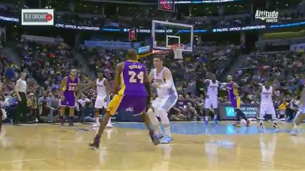 692198d8840f Jusuf Nurkic Stops Kobe and Taunts Him - YouTube