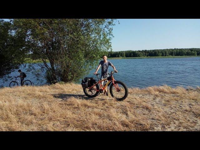 Поїздка з Дубно у Бущу через поля, пісок і соняшники (30.06.19)