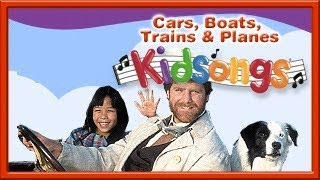 Gambar cover Kidsongs: Cars, Boats, Trains and Planes