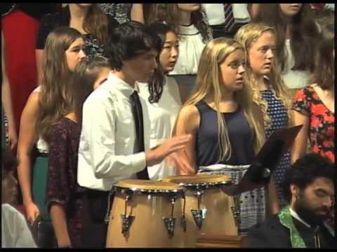 The Asheville Christian Academy Upper School Choir at Central UMC