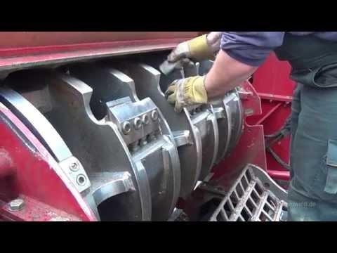 Wood Shredder Blade Maintenance