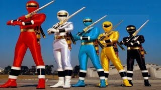 Opening Power Rangers Mighty Morphin Alien Rangers