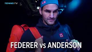 Federer defeats Anderson to top Group Lleyton Hewitt | 2018 Nitto ATP Finals Highlights Day 5