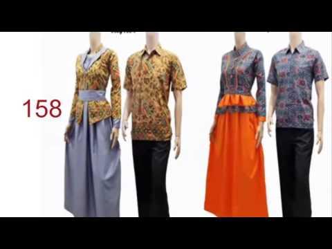 model baju blus panjang  baju setelan batik guru  YouTube
