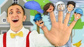 Jobs Song for Kids - Super Simple Nursery Rhymes –  Professions Part 2