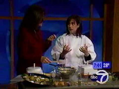 Susie Fishbein Making Hanukah Latkes on TV - YouTube