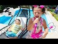 Ali and Adriana Pretend Play with Musical Instruments Toys for Kids! And other Funny Videos