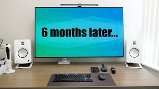 Using a 4K OLED TV as a Monitor | 6 Months Later