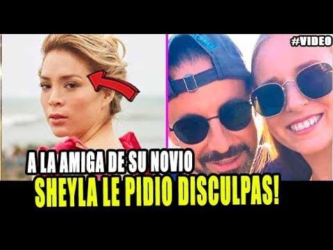 SHEYLA ROJAS PIDE DISCULPAS A LA AMIGA DE SU NOVIO MILLONARIO FIDELIO CAVALLI
