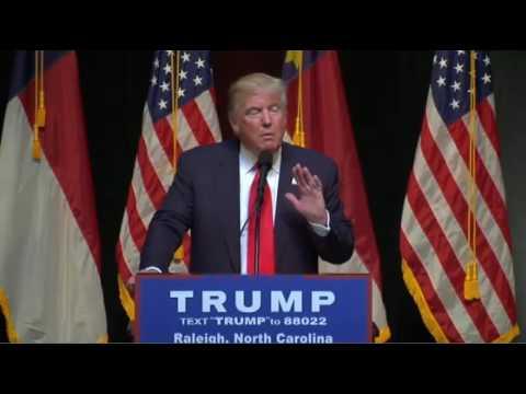Donald Trump Raleigh NC 7/5/16 FULL SPEECH