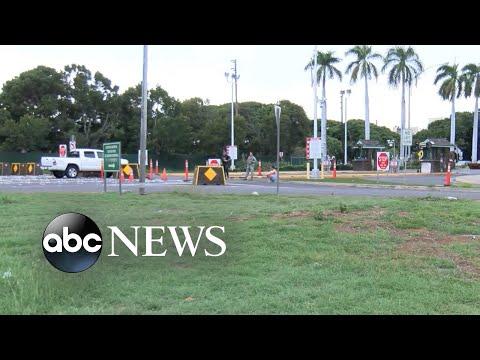 3 dead in shooting at Pearl Harbor Naval Shipyard