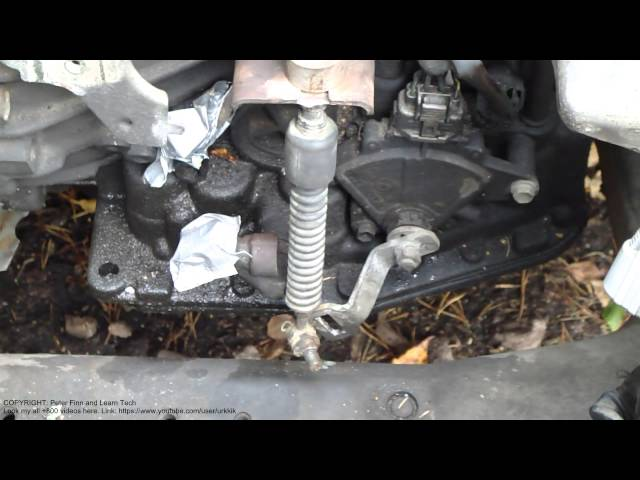 How To Replace Transmission >> How To Replace Change Cable Automatic Transmission Toyota