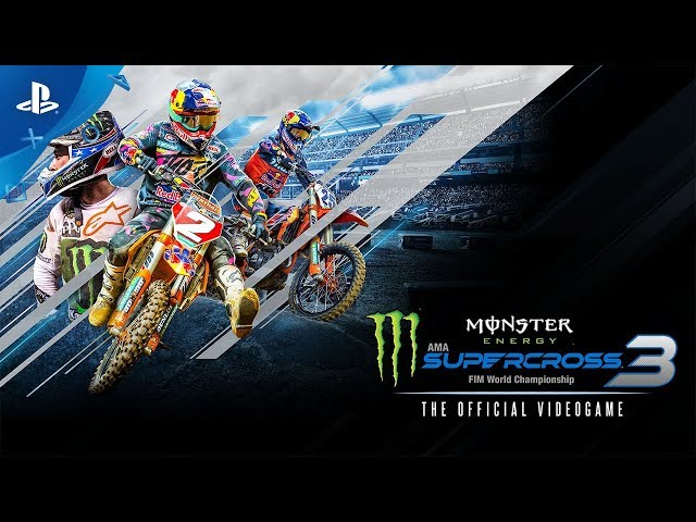 Monster Energy Supercross 3 | Announcement Trailer | PS4