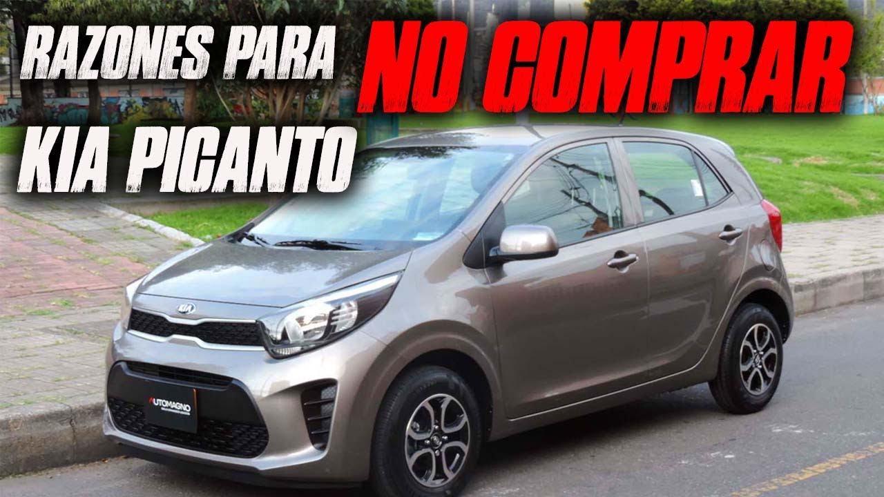 Razones para NO COMPRAR un Kia Picanto