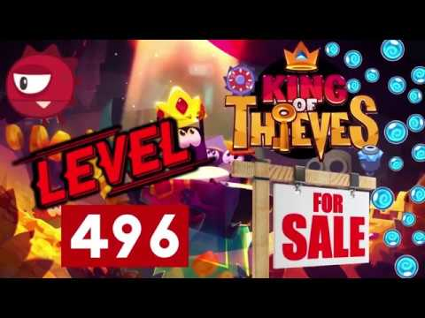 King Of Thieves Account For Sale! June 2019
