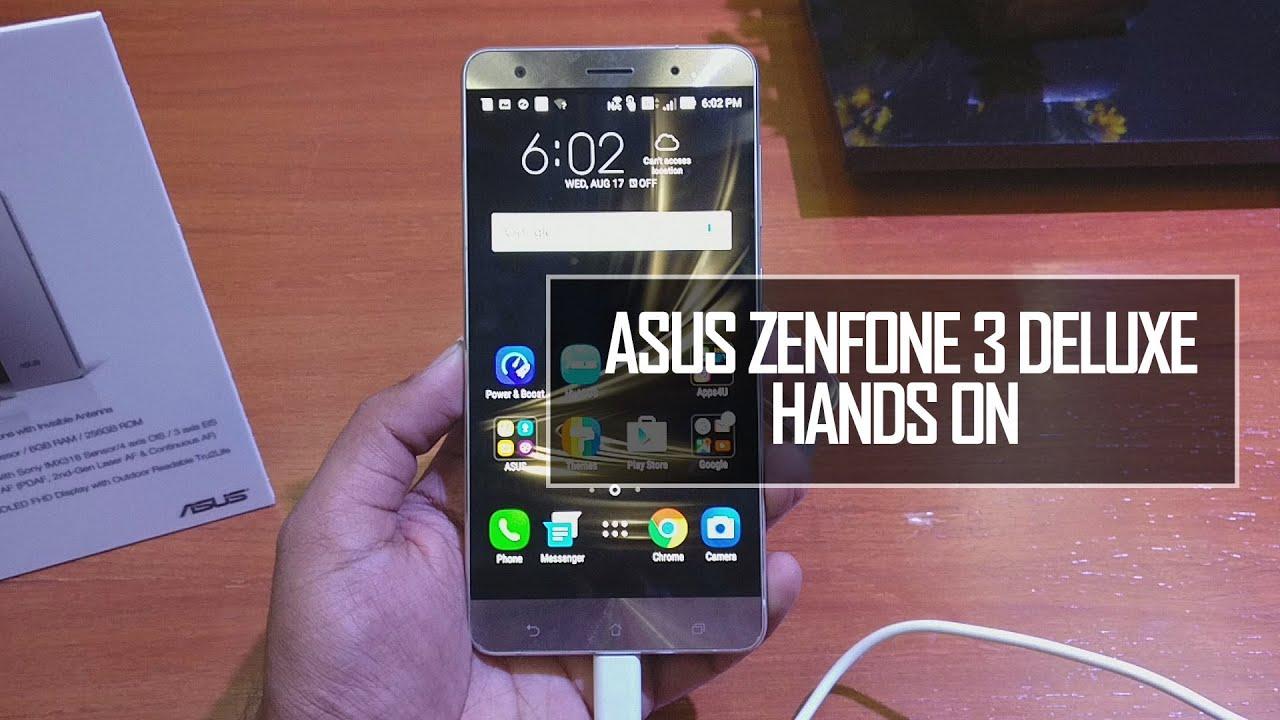 Asus Zenfone 3 Deluxe Zs570kl Hands On Review Techniqued Youtube