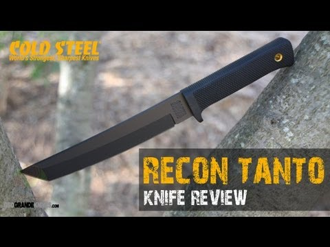 Cold Steel Recon Tanto 13RTK Knife (Battlefield Tough