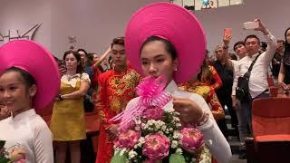 Nsut Trịnh Kim Chi cúng tổ trang trọng thu hút đông đảo nghệ sỹ tham dự