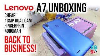 Lenovo A7 (2020) Unboxing / Camera / Pros & Cons