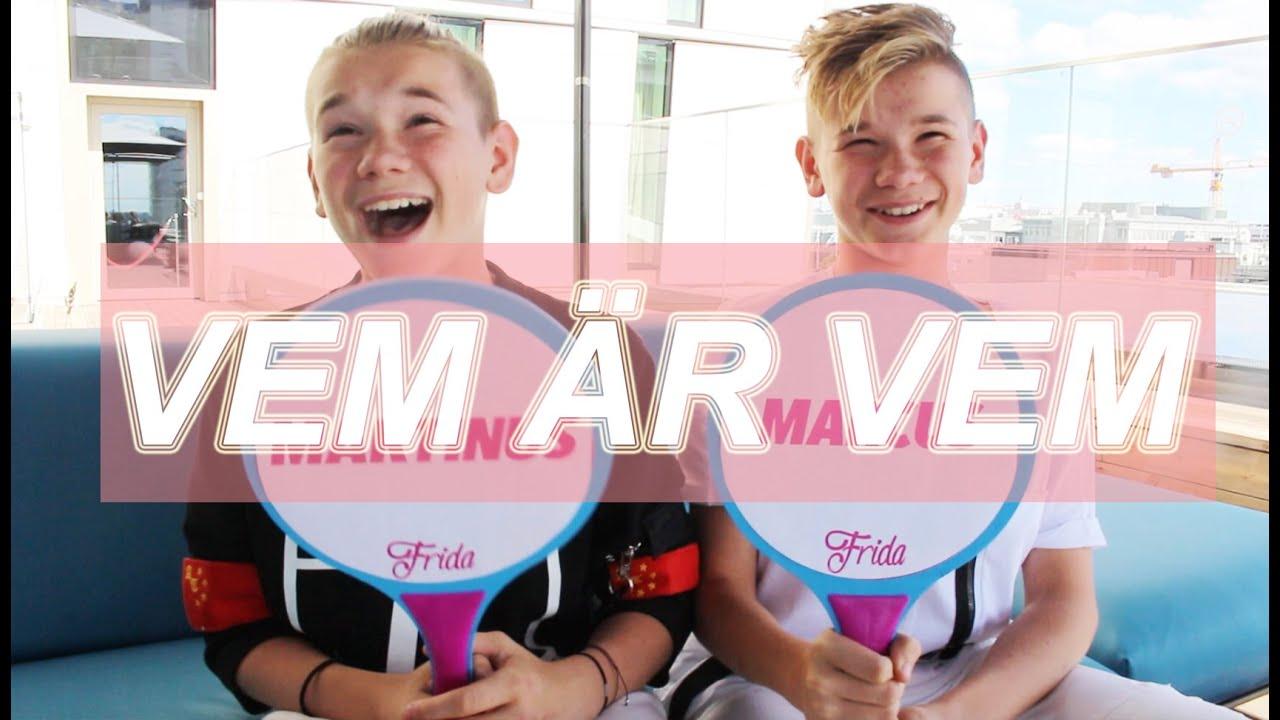 färska stilar grossistförsäljning Det bästa VEM ÄR VEM w/ Marcus & Martinus - YouTube