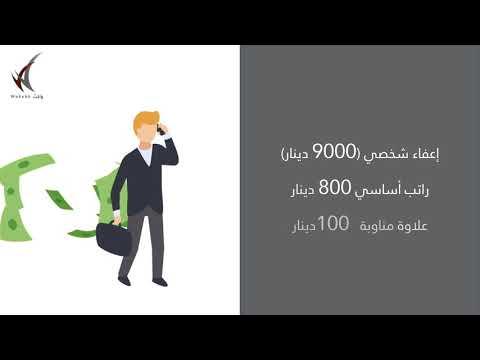 احتساب ضريبة الدخل للأفراد في الأردن - القانون المعدل  لسنة 2020 – واكب / الجزء الأول