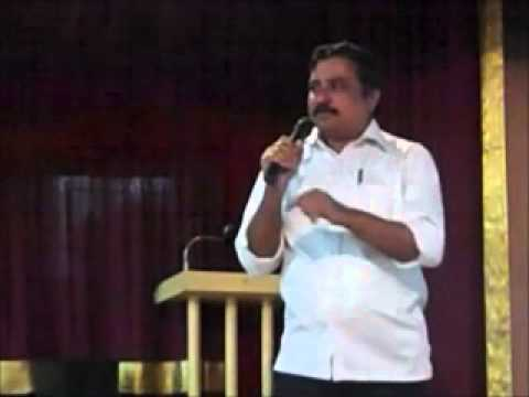 Prof. Balusamy on Arjuna Penance Panel, Tamil Heritage Kachcheri 2011, 24/12/2011