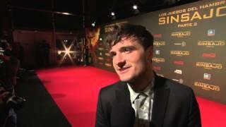Mockingjay Part 2 Madrid Premiere - Josh Hutcherson Soundbites