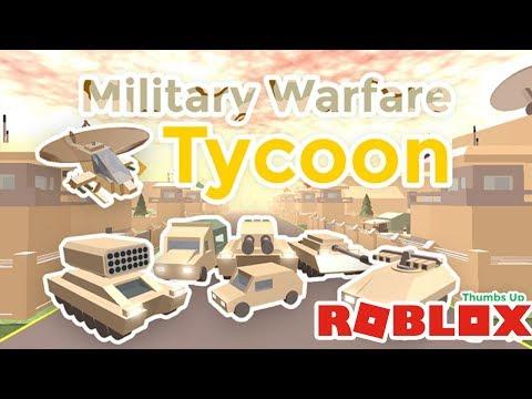 🔫⚔️ ASKERİ ÜS KURDUK / Roblox Military Warfare Tycoon / Os Oyun Safı