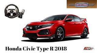 City Car Driving - Honda Civic Type R - обзор, тест-драйв за рулем Logitech G27
