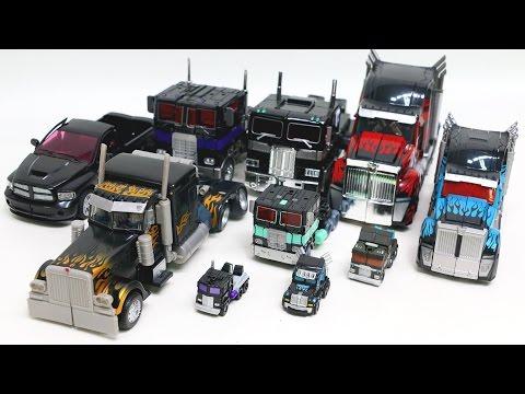 Transformers Black Color Nemesis Prime 10 Truck Vehicles Transformation Robot Car Toys