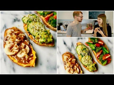 Sweet Potato Toast 3 ways |Easy, Healthy Breakfast