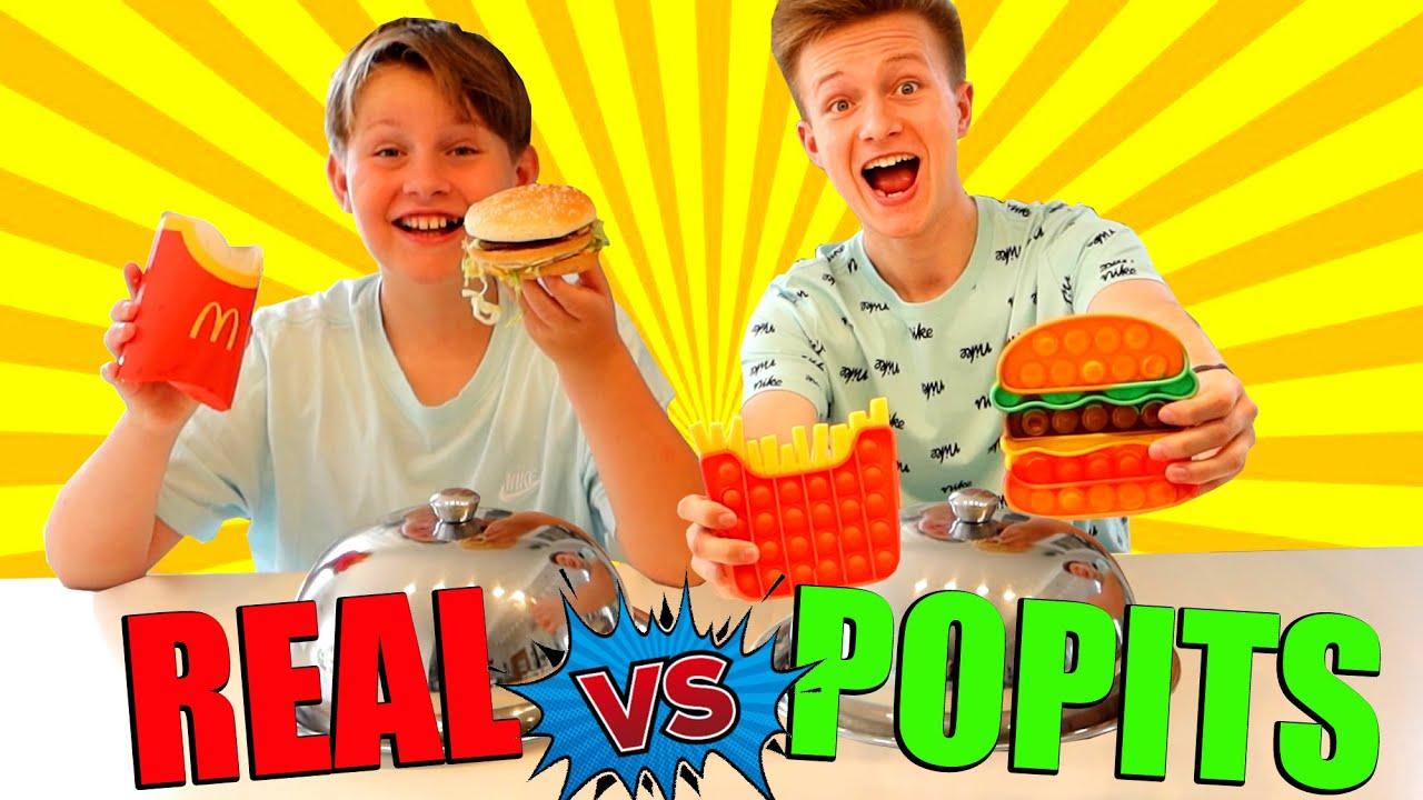 REAL vs POPITS 🤣 TipTapTube