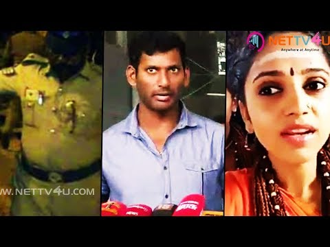 Andal Controversy!Vishal Supports Vairamuthu|Vishal Salutes Real Heroes| TN Police|Rowdies Arrested