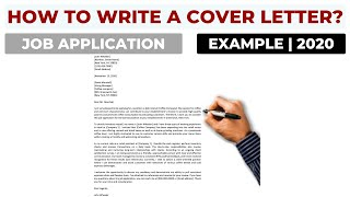 How To Write A Cover Letter For A Job Application? | Example