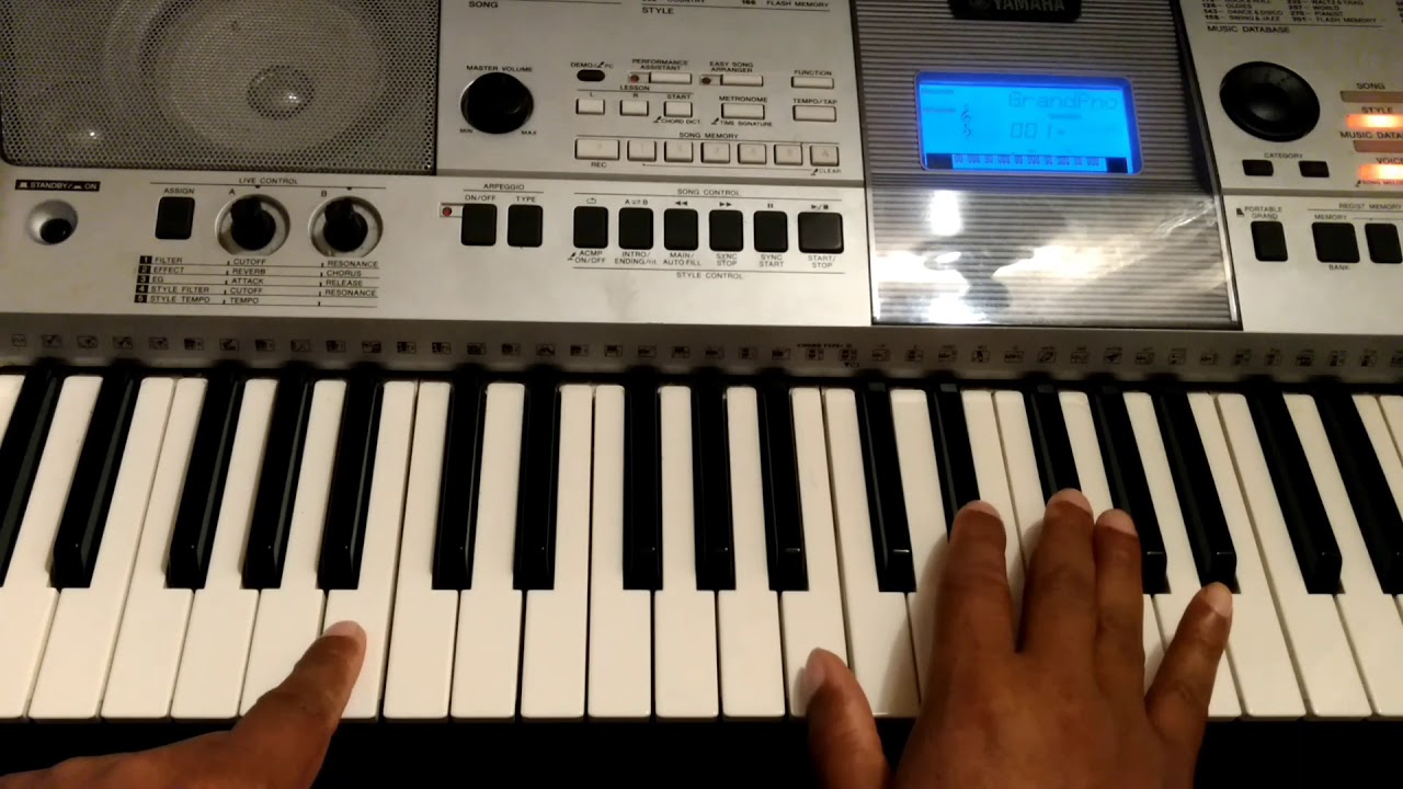 how to play awesome god by gerald tammi haddon on piano youtube. Black Bedroom Furniture Sets. Home Design Ideas