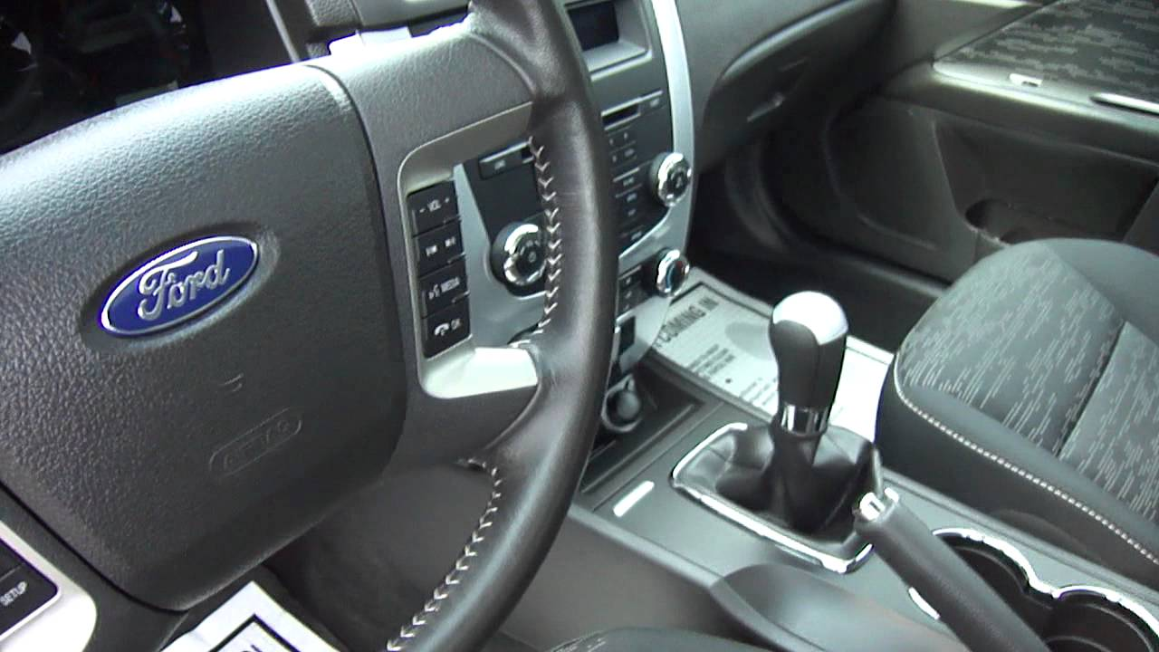 2010 Ford Fusion Se Youtube