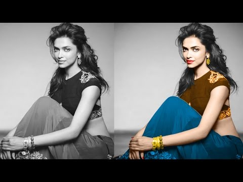 How to Create Black and White Photo to Colour Photo in photoshop cs6  | photo manipulation