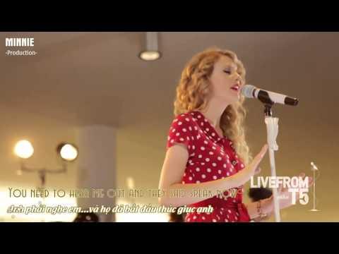Lyric++ Vietsub Speak Now   Taylor Swift