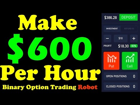 Binary Option Robot  Review - $6500 Profit Per Day Trading Strategy