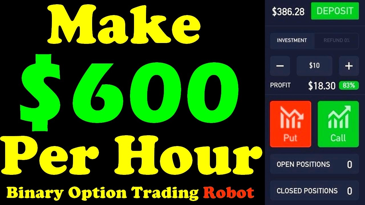 Free binary option trading robot