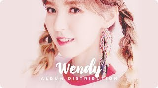 Wendy (red velvet) - 5th ep 'the red summer'┃album line distribution