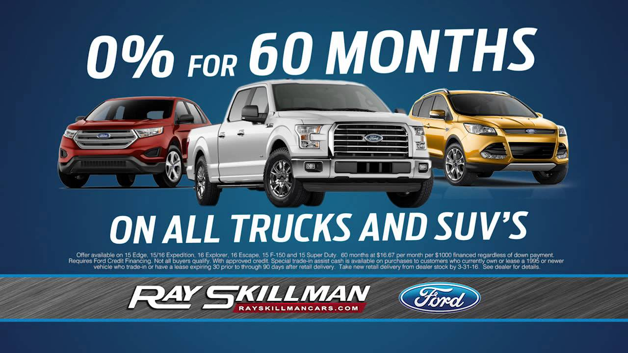 Ray Skillman Ford March Is Truck Month Youtube