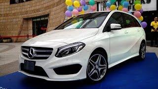 【新聞40】Mercedes-Benz B-Class進化登場(行車紀錄趣官網:http://funcar.udn.com Mercedes-Benz旗下豪華小車B-Class推出改款並提供B 180、B 200 CDI及B 200 三種動力車型供消費者選擇全車系標準配備 ..., 2015-03-05T12:38:17.000Z)