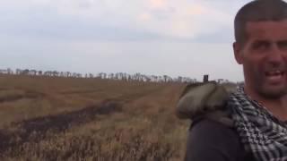 Реальный бой. Бойцы ЛНР . Бой в поле, раненные 18+