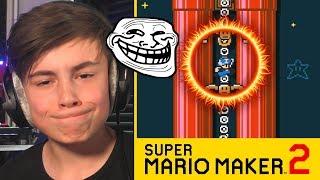 ERGSTE TROLL LEVEL IN SUPER MARIO MAKER 2 !!